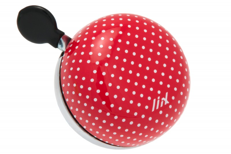 Liix Mini Ding Dong Polka Dots Red